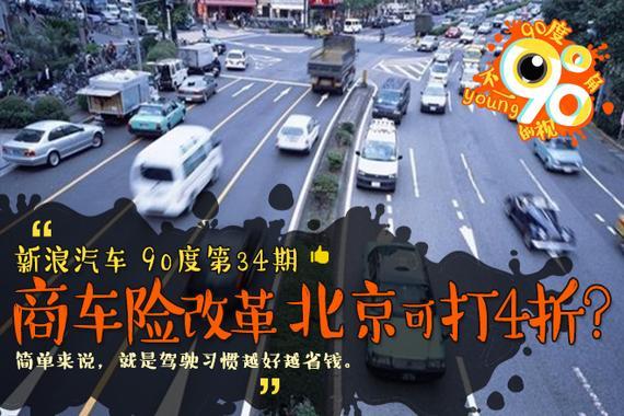 90度|商车险改革 北京最低可打4折?