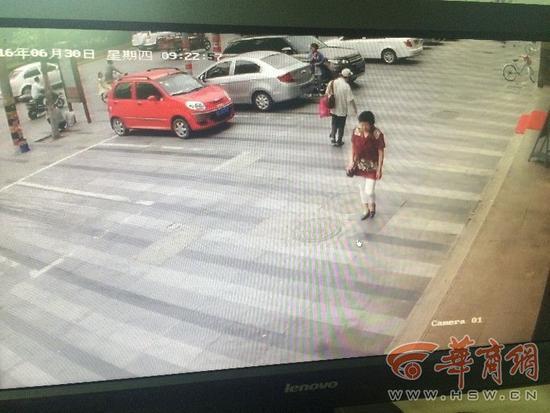 车主问收费员为何没穿制服被报复路虎被划