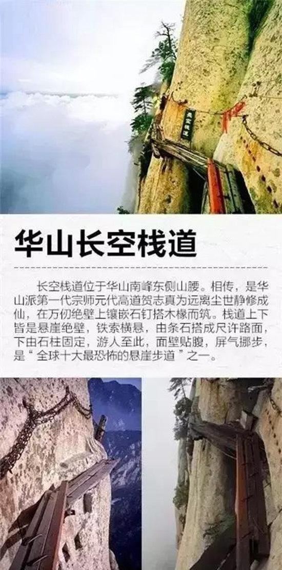 """一起自驾来挑战!中国9大最""""恐怖""""栈道"""