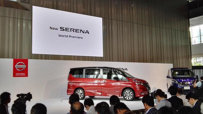 日产全新Serena搭载ProPILOT自动驾驶技术