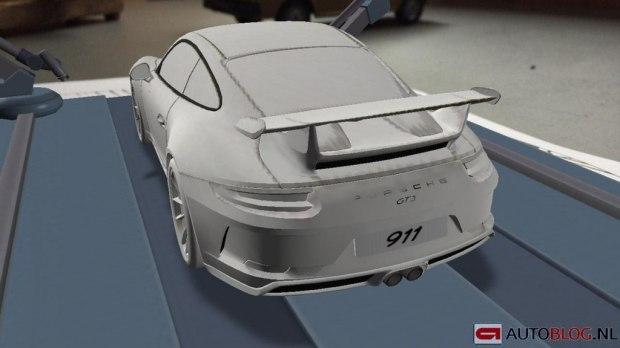 保时捷新款911 GT3曝光 配3.8L发动机
