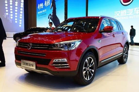 全新紧凑SUV车型 汉腾X7将9月上市