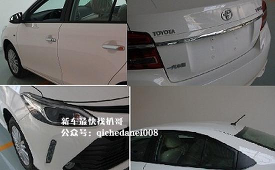 紧随其后 丰田新款威驰升级CVT变速箱