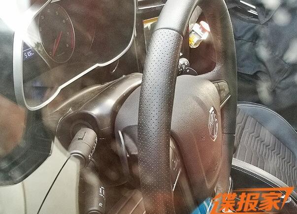 全新设计风格 MG新SUV内饰谍照首曝