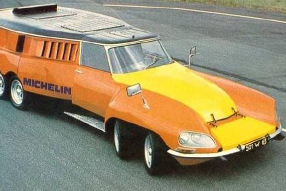 10轮怪兽Michelin Citroën DS PLR 。