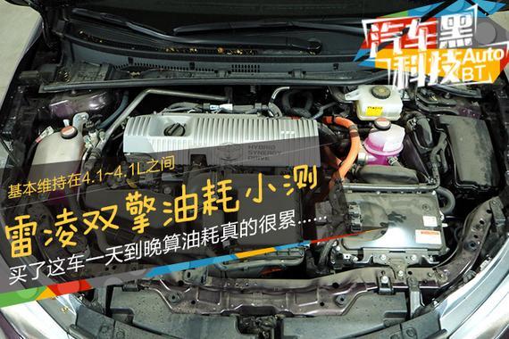 黑科技·番外篇 丰田双擎上下班油耗小测