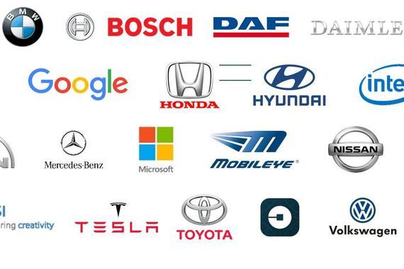 行业无人车研发现状:科技公司合作成常态