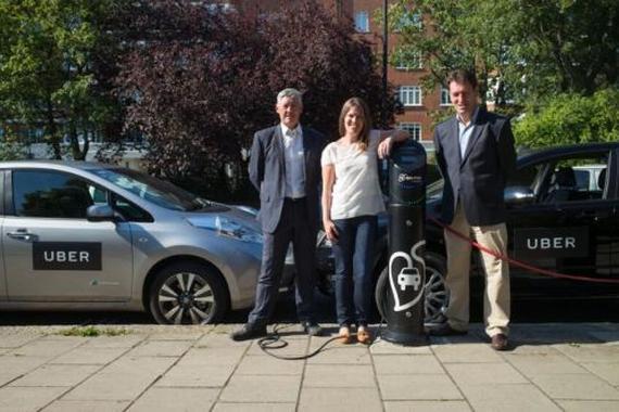 Uber推新计划 将在英国引入电动车服务