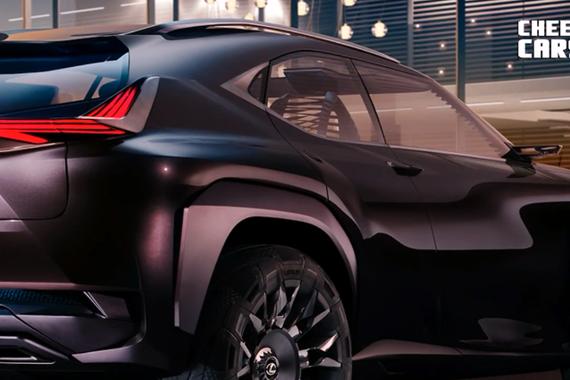 视频:Lexus UX 概念车惊艳亮相