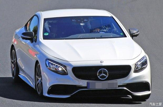 新一代梅赛德斯-奔驰SL级底盘测试车