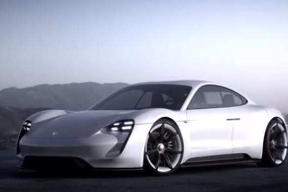 视频:保时捷也出电动车?样子还很酷