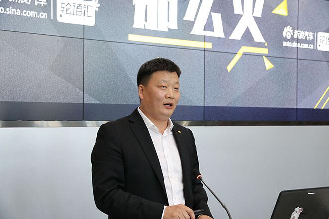 北汽股份副总裁、销售公司党委书记、执行董事、总经理 蔡建军