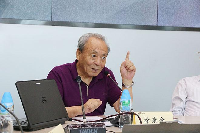 中国欧洲经济技术合作协会会长、中国汽车流通协会名誉会长 徐秉金