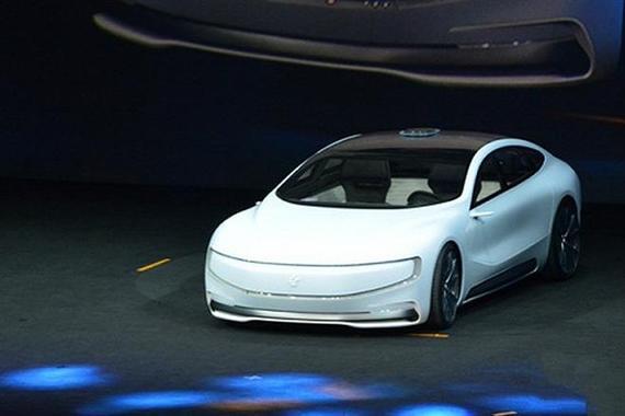 贾跃亭宣布乐视汽车完成$10.8亿首轮融资