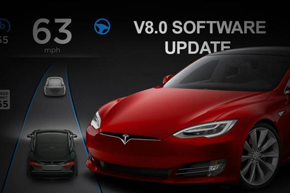 特斯拉v8.0固件版本提前曝光 UI更新成最大亮点