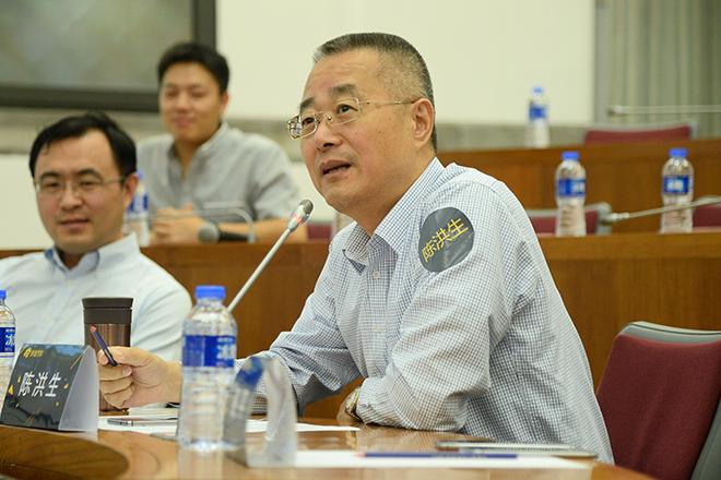 浙江吉利控股集团汽车销售有限公司副总经理陈洪生