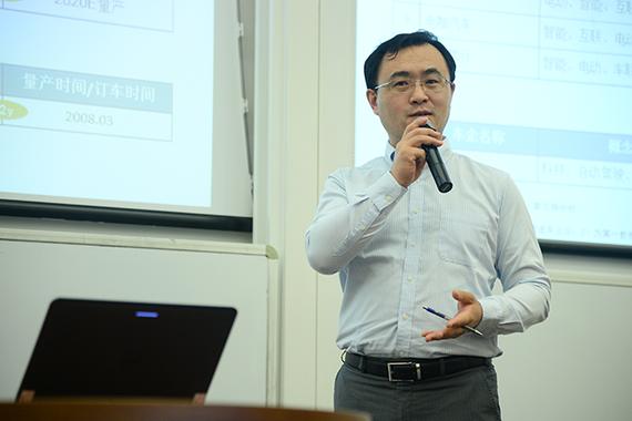 刘昕:互联网造车的节奏越来越快 量产将近