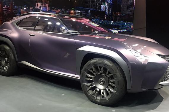视频:巴黎车展 雷克萨斯UX概念车亮相