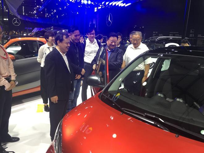 2016浦东国际汽车展开幕