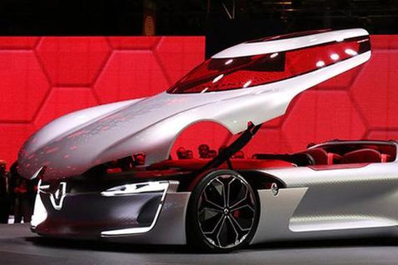 巴黎车展酷炫新能源汽车或引入中国