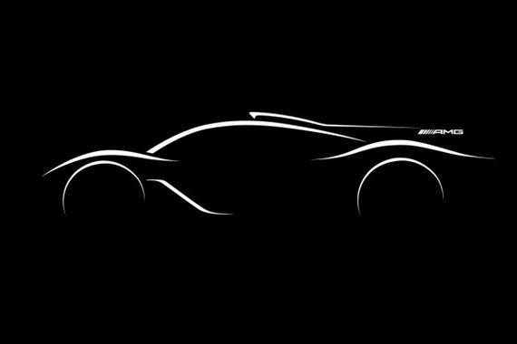 搭载F1发动机 AMG官方确认将推超级跑车