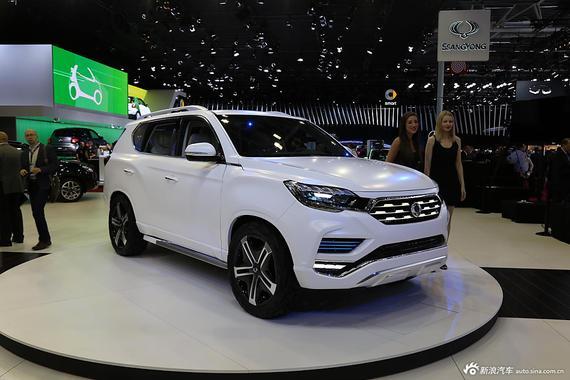 采用7座布局 双龙全新SUV 2020年将推出
