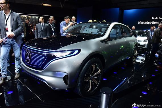 奔驰首款纯电动SUV接受预定