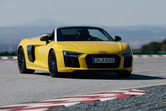 视频:史上最强 奥迪R8 Spyder V10
