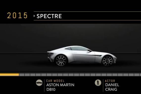 视频:见证传奇!007邦德座驾的演变史