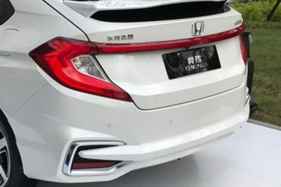 5款车型供选 东风本田竞瑞配置信息曝光