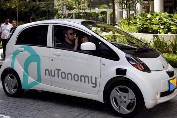 新加坡无人车nuTonomy测试时与卡车相撞