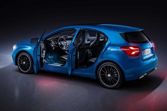 售23.6-36万元 奔驰新款A级正式上市