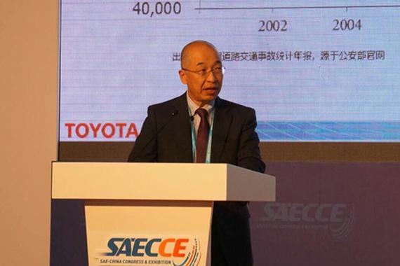 奥平总一郎:合作共赢 打造安全自动驾驶