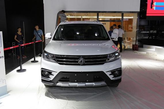标配车身稳定系统 全新景逸X5配置曝光