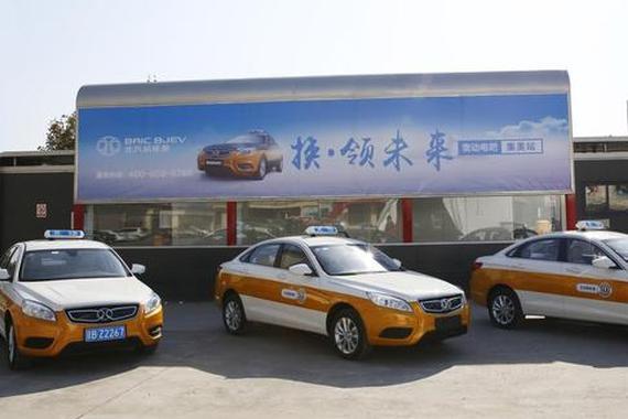 换电运营模式一大步 北京充换电站集群交付