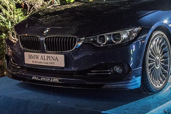 ALPINA B4 BITURBO上市 确定不是宝马?