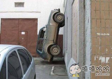 人家车震都是在车里 这两个开着门车震