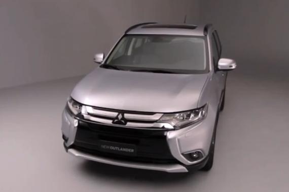 视频:全新紧凑级SUV车型 三菱欧蓝德