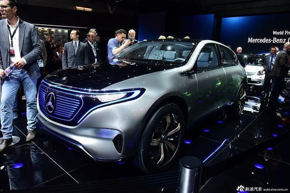 EQ概念车/E级标轴版 奔驰广州车展阵容
