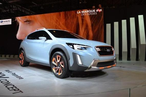 新XV概念车等 斯巴鲁公布广州车展阵容