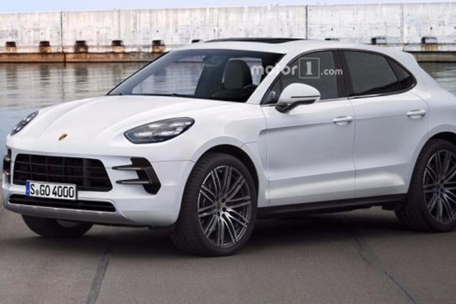 或命名Majun 保时捷新紧凑型SUV假想图 手机新浪汽车