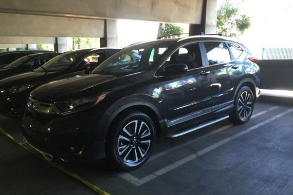 2016洛杉矶车展:本田全新CR-V实车