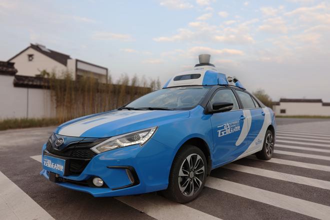 百度无人车开展国内首次开放城市道路运营