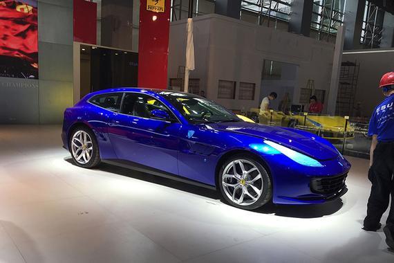 2016广州车展探馆:法拉利GTC4Lusso T