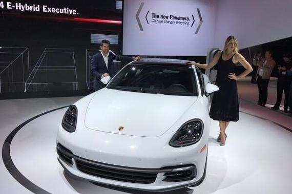 2016洛杉矶车展:新Panamera长轴距版
