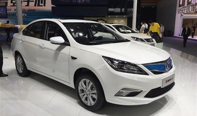 2016广州车展:长安3款新能源车型上市