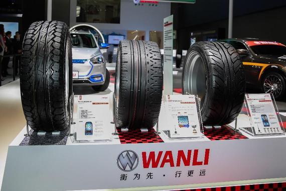 2016广州车展:万力轮胎三款新品亮相