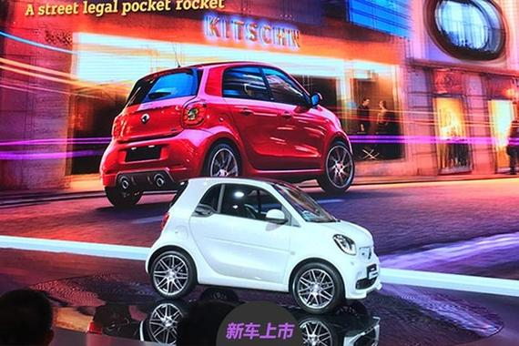 三缸热血青年 smart巴博斯版售22.8万起