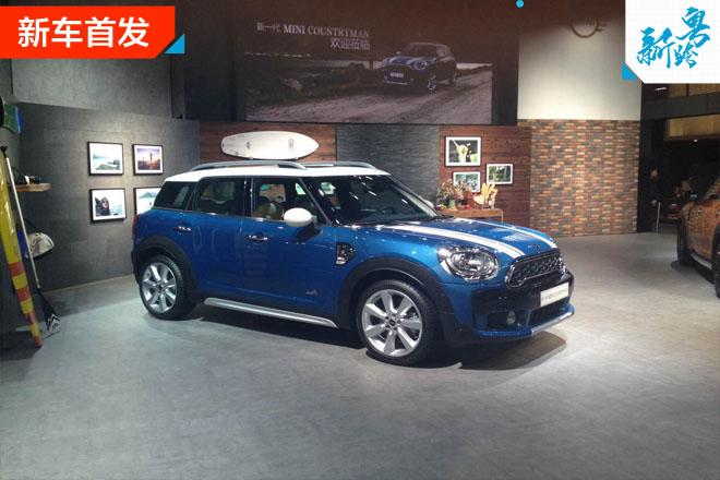 2016广州车展:全新MINI COUNTRYMAN首发