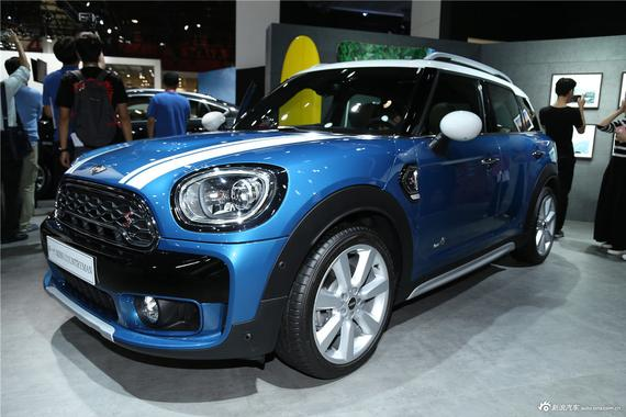 2016广州车展MINI Countryman